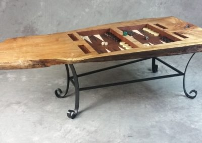 Backgammon Table by Bill Shea