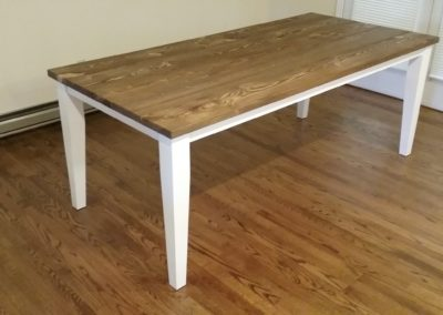 Hemlock Farmhouse Dining Table by Mark Gouge