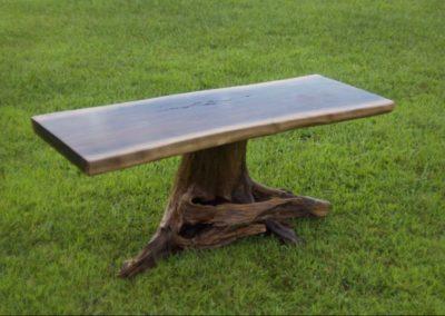 Walnut & Locust Table by Josh Ellis