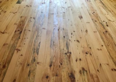 White Pine T and G Flooring