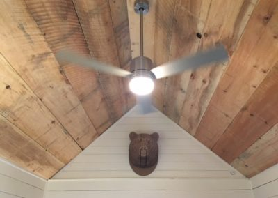 White Pine Ceiling (Circular Saw)