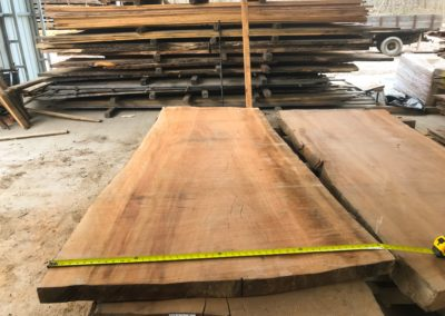 Local Asheville Sycamore Slabs, Kiln Dried. 36 to 48 Inches Wide and Ready to Become Your Dining Room Table, or Kitchen Island Top.